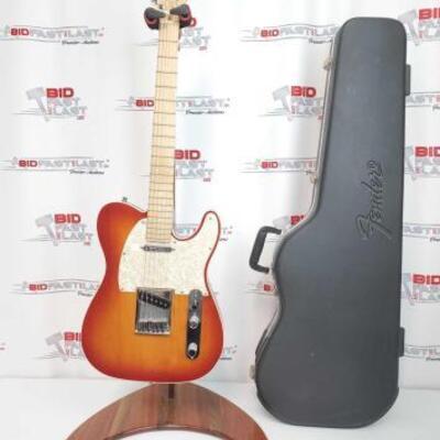 2036  Fender Telecaster Electric Guitar With Fender Hard Case Serial Number: DZ9329271