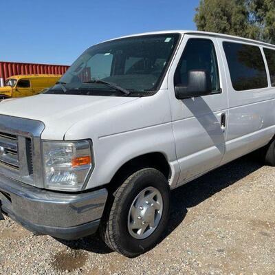 378  2012 Ford Econoline Wagon BROKEN TRANSMISSION Year: 2012 Make: Ford Model: Econoline Wagon Vehicle Type: Van Mileage: 122457...