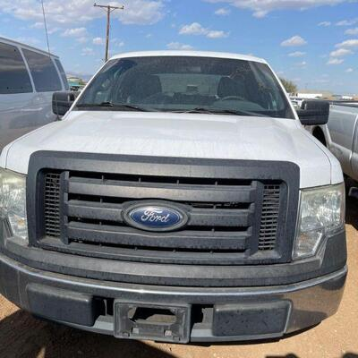 330  2011 Ford F-150 Year: 2011 Make: Ford Model: F-150 Vehicle Type: Pickup Truck Mileage: Plate:  none Body Type: 4 Door Cab; Super...