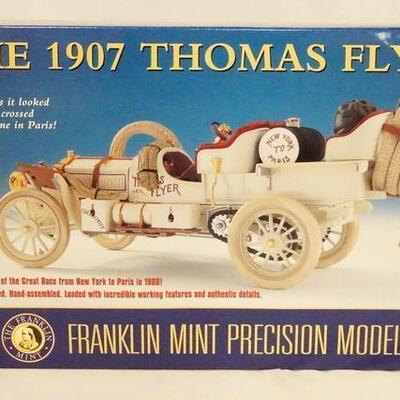 10131907 THOMAS FLYER 1:24 SCALE FRANKLIN MINT PRECISION MODEL IN ORIGINAL BOX