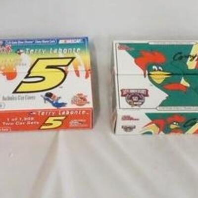 1069LOT OF EIGHT RACING CHAMPIONS LIMITED EDITION 1:24 SCALE NASCAR MODEL CARS IN ORIGINAL BOXES.