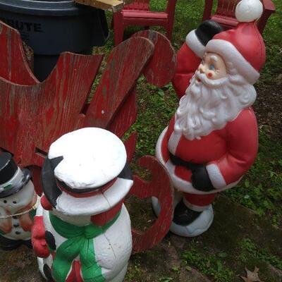 Christmas yard decoration