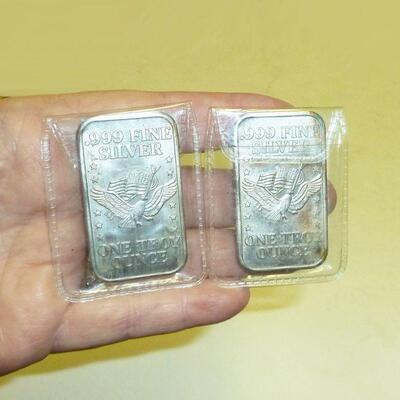 fine silver 999 ingots