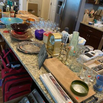 Squeaky clean kitchen items.