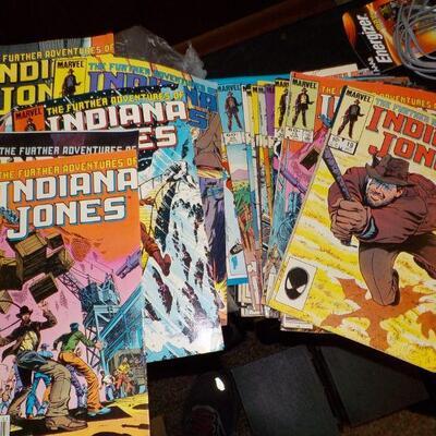 1050's Indiana Jones Comic Books in very good condition.