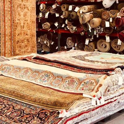 Authentic Hand-knotted Turkish SILK Rugs & Persian & Oriental Rugs & & Kilims & Arts  50% to 70% Additional DIscounts From Our Lowest...