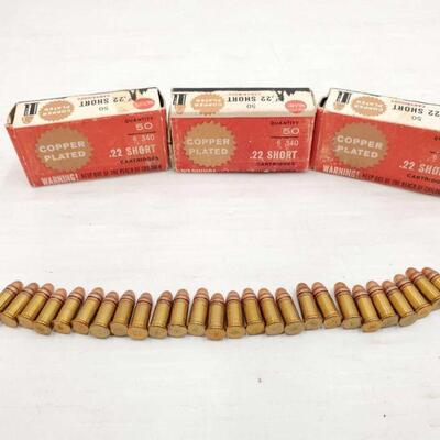 #802 • 150 Rounds Of .22 Short