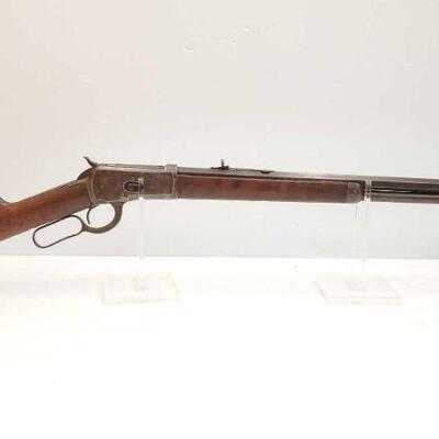 #608 • Winchester 1892 .38 WCF Lever Action Rifle. Winchester 1892 .38 WCF Lever Action Rifle Barrel Length: 24