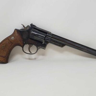 #510 • Smith&Wesson 53 .22 MAG Revolver - CA OK - NO CA SHIPPING Serial Number: K450839 Barrel Length:8