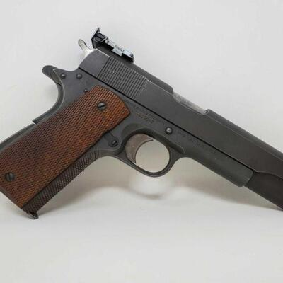 #410 • Colt 1911 A1 US Army .45 Semi-Auto Pistol - CA OK, NO CA SHIPPING CA OK SERIAL NO 1155042 BARREL LENGTH 4.5