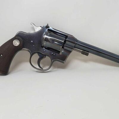 #516 • Colt Officers Model .22lr - CA OK - NO CA SHIPPING. Serial Number: 17839 Barrel Length: 6