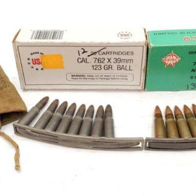 #838 • 25 Rounds Of 7.65×39mm and More
