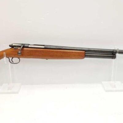 #716 • JC Higgins 583 .20 12 GA Bolt Action Shotgun. Serial Number: 37347 Barrel Length: 28