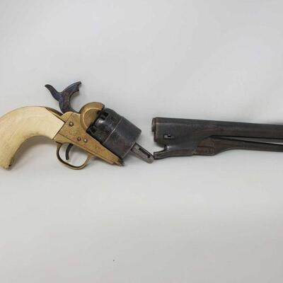 #594 • Black Powder Revolver. Serial Number: B60915 Barrel Length: 8