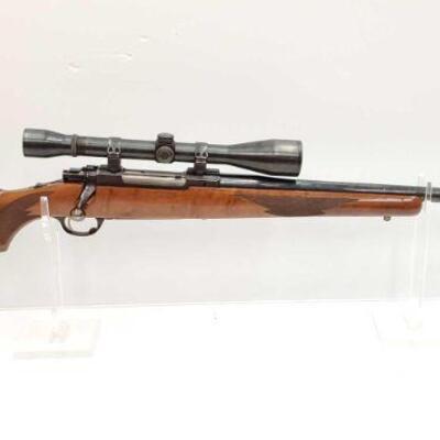 #634 • Ruger M77 .338 WIN MAG Bolt Action Rifle. Serial Number: 443-09092 Barrel Length: 25