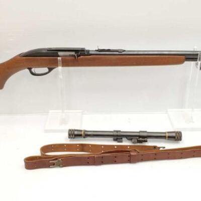 #644 • Marlin 99 .22lr Rifle SERIAL NO 2ANTIQUE BARREL LENGTH 22