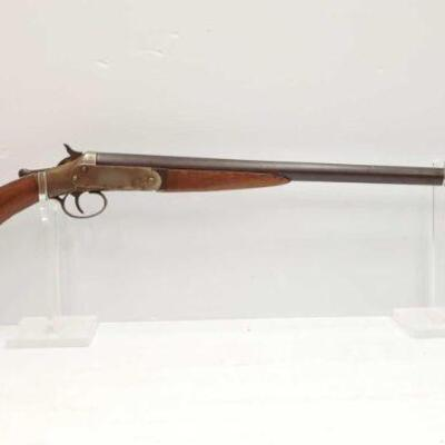 #734 • Bright Arms 12 GA Shotgun SERIAL NO C4809 BARREL LENGTH 30