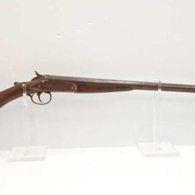 #736 • Hopkins&Allen Forehand 12 GA Shotgun SERIAL NO 135334 BARREL LENGTH 30