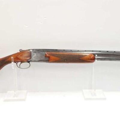 #714 • Browning Special Steel 12 GA Shotgun SERIAL NO 37347 BARREL LENGTH 28
