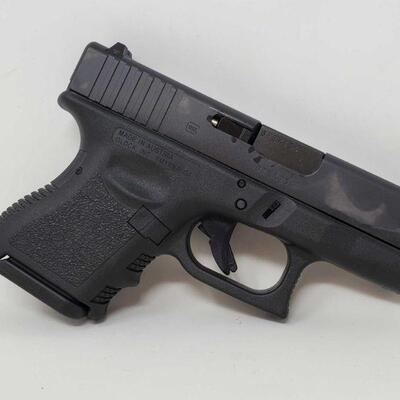#402 • Glock 26 9mm Semi-Auto Pistol - CA OK Serial No. BTEX134 BARREL LENGTH 3.5