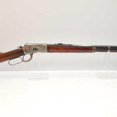 #604 • Winchester 92 .38 WCF Lever Action Rifle. Serial Number: 901810 Barrel Length: 24