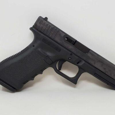 #404 • Glock 17 9mm Pistol - CA OK SERIAL NO BTAV508 BARREL LENGTH 4.5' CA OK.   California Transfer Available. Ca and out of state...