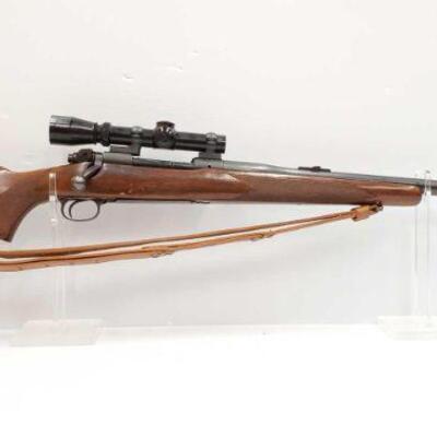#622 • Winchester 70 375 H&H MAG Bolt Action Rifle. Serial Number: 245887 Barrel Length: 26