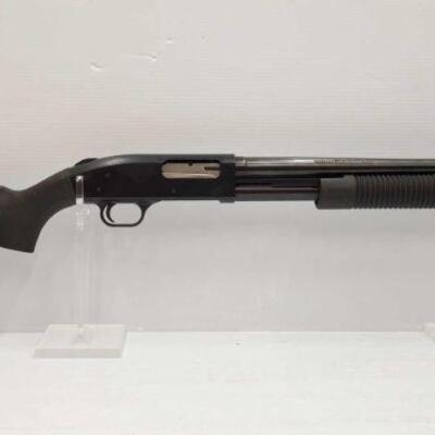 #700 • Mossberg 500 12 GA Pump Action Shotgun SERAIL NO U431781 BARREL LENGTH 21