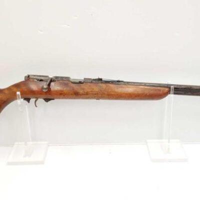 #650 • Ranger 103-13 .22 S-L-LR Bolt Action Rifle SERIAL NO 2ANTIQUE BARREL 24