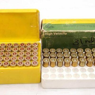 #824 • 50 Rounds 375 MAG 158 GR, 31 Rounds Of 38 S&W 146 GR