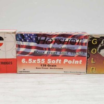 #850 • 60 Rounds Of 6.5×55