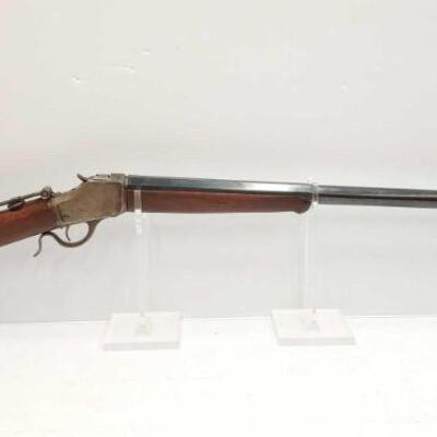 #648 • Winchester 1885 Rifle SEIAL NO 77545 BARREL LENGTH 30