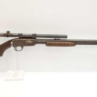 #638 • Winchester 61 .22 Rifle - Serial Number: 1590 Barrel Length: 24