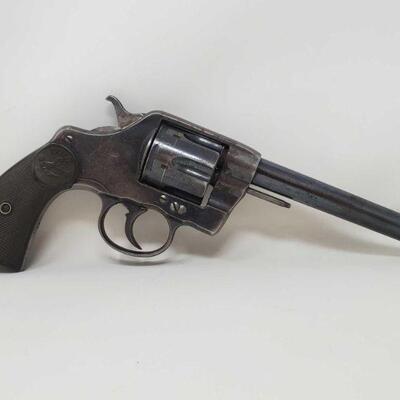 #514 • Colt DA38 .38 Revolver - CA OK - NO CA SHIPPING. Serial Number: 125202 Barrel Length: 6