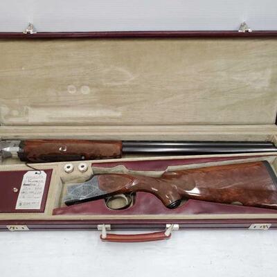 #702 • Winchester Model 101 25th Anniversary Silver Edition 40/101 12 GA Shotgun. Serial Number: W5A12-040E Barrel Length: 28