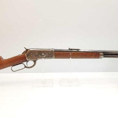 #614 • Winchester 1886 .40-82 Lever Action Rifle. Barrel Serial Number: 80796 Barrel Length: 23