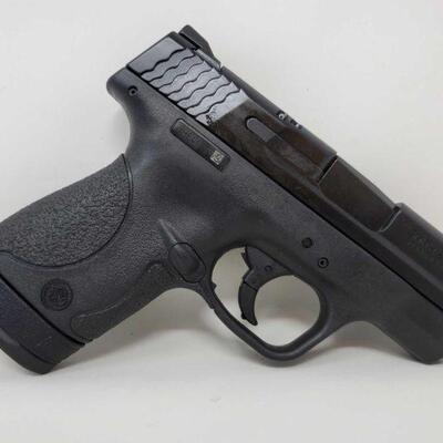 #420 • Smith & Wesson M&P 9 Shield 9mm Semi-Auto Pistol - CA OK  SERIAL NO JHE4075 BARREL LENTH 3