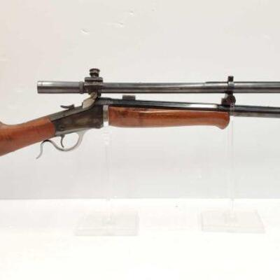 #618 • Winchester 1885 Lever Action Rifle. Serial Number: 88145 Barrel Length: 22