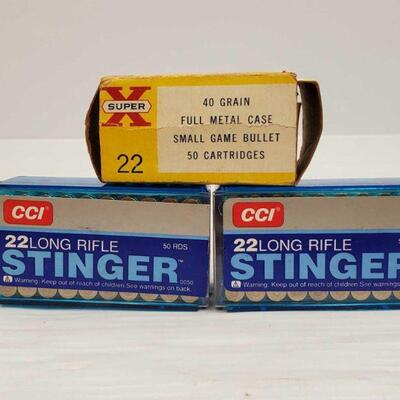 #818 • Approx 150 Rounds Of .22 LR