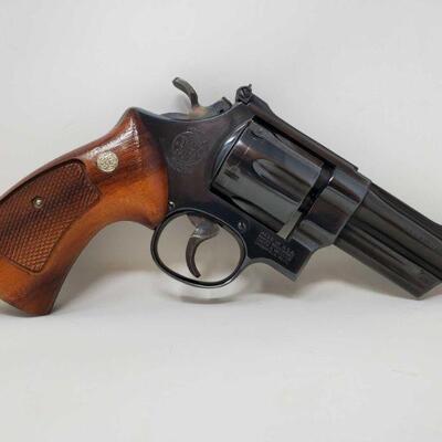 #500 • Smith&Wesson 27-2 .357 Mag Revolver - CA OK - NO CA SHIPPING SERIAL NO N885896 BARREL LENGTH 4
