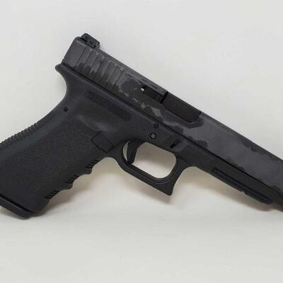 #400 • Glock 34 9mm Semi-Auto Pistol - CA OK serial no BPFZ483 barrel length 5inches. California OK California Transfer is available. CA...