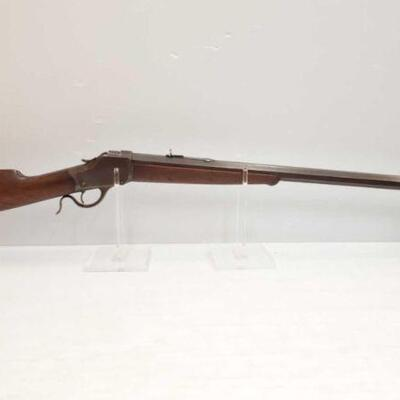#610 • Winchester 1885 .45-70 Cal Lever Action Rifle. Barrel Length: 29