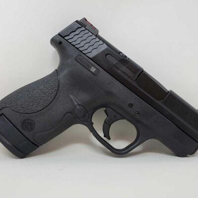#418 • Smith & Wesson M&P 9 Shield 9mm Hi Viz Semi-Auto Pistol - CA OK SERIAL NO JHD2296N BARREL LENGTH 3.125