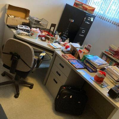 a well organized office