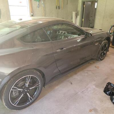 2017 Ford Mustang with only 10,785 Miles.