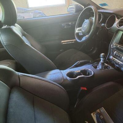 2017 Ford Mustang with 10,785 Miles