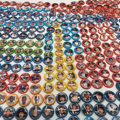 This lot contains a variety of baseball buttons from teams like the Pittsburgh Pirates to the Baltimore Orioles. Some players includes...