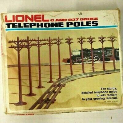 https://www.ebay.com/itm/114855491379OR8008 VINTAGE LIONEL TRAIN SET TELEPHONE POLESAuction