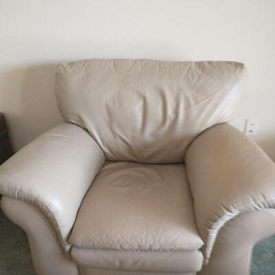 Leather chair $45