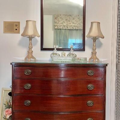 SOLD Dresser + Mirror